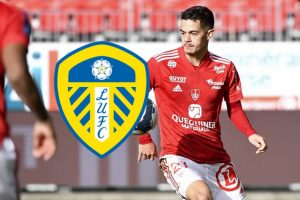 Leeds United to do battle with European giants for midfielder