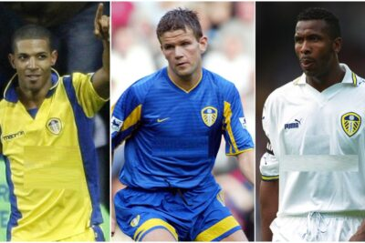 QUIZ: Can you name the missing sponsor on these 10 Leeds United shirts?