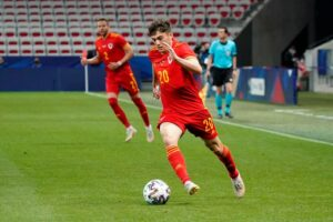 'Messi with double the pace'- How social media reacted to Dan James Wales performance