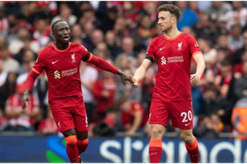 Liverpool's expected line-up for this Sunday's clash with Leeds United